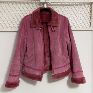 DANIER Pink Leather Jacket